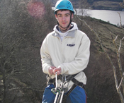 Ready to abseil
